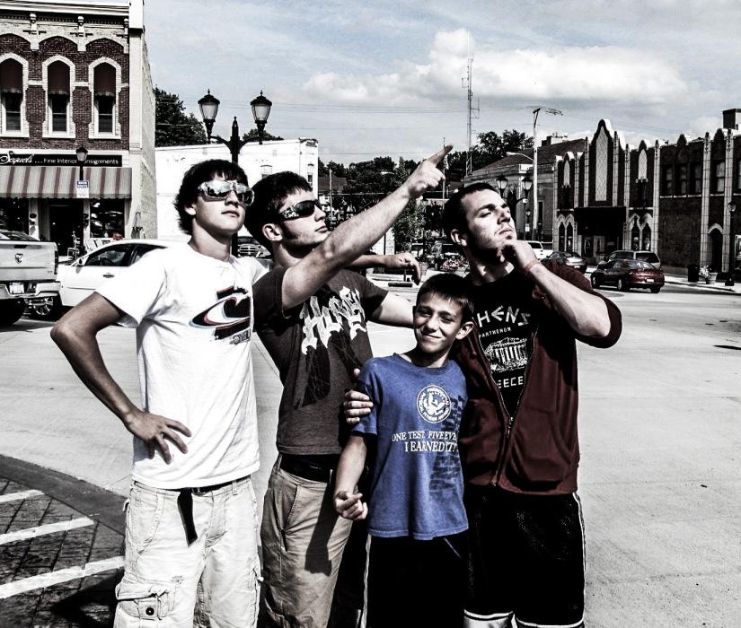 Boys in Argyle