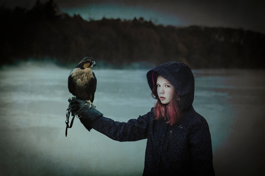Molly and falcon