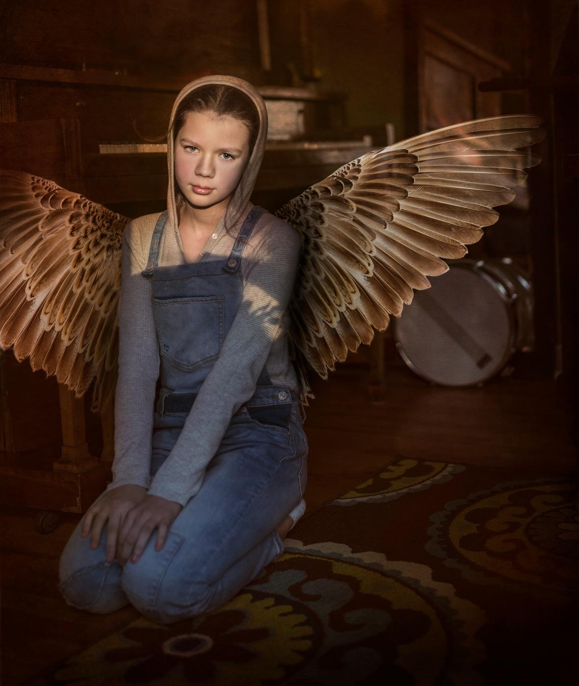 Winged child